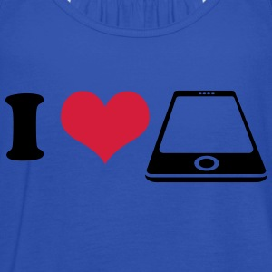 I love Smartphone T-Shirts - Women's Tank Top by Bella