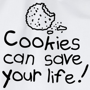 Cookies can save your life T-skjorter - Gymbag