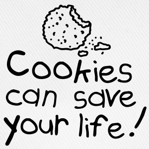 Cookies can save your life T-skjorter - Baseballcap