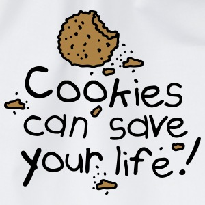 Cookies can save your life Camisetas - Mochila saco