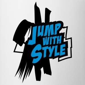 jump with style T-Shirts - Tasse