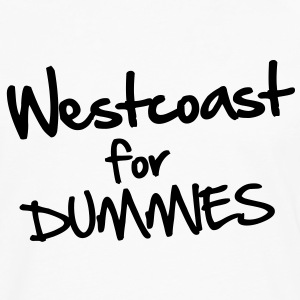 Westcoast for Dummies T-shirts - Herre premium T-shirt med lange ærmer