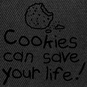Cookies can save your life Camisetas - Gorra Snapback