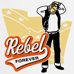 Rebel forever, Girlie-T-Shirt - Tablier de cuisine