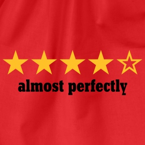 almost perfectly | perfect | stars | rating T-Shirts - Sportstaske