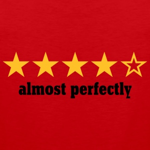 almost perfectly | perfect | stars | rating T-Shirts - Herre Premium tanktop
