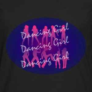 dancing_girl_2 T-shirts - T-shirt manches longues Premium Homme