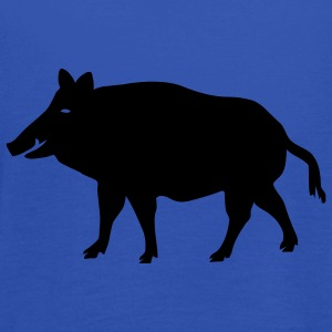 shirt pig wild boar hog - Women's Tank Top by Bella