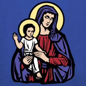 Mary and Jesus T-Shirts - Kinderen trui Premium met capuchon