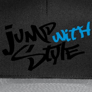 jump with style T-Shirts - Casquette snapback