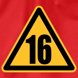 Warning 16 | Achtung 16 T-Shirts - Gymbag