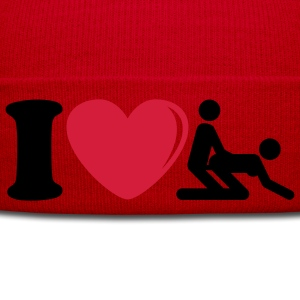i_love_sex_2c Camisetas - Gorro de invierno