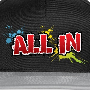 All in, graffiti - Snapback Cap