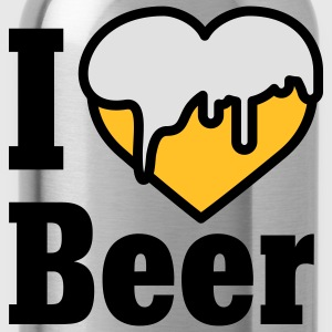 I love Beer | Heart | Beer T-Shirts - Drinkfles