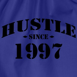 hustle since - Turnbeutel
