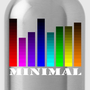 Equalizer design for musicians Audipophiles minimal T-Shirts - Water Bottle