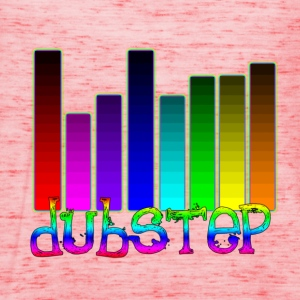 Dubstep Audipophiles equalizer design for musikere T-shirts - Dame tanktop fra Bella