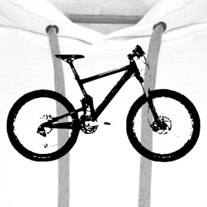 mountain bike - Premium hettegenser for menn