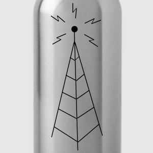 Transmission Tower Sendemast T-shirts - Drinkfles