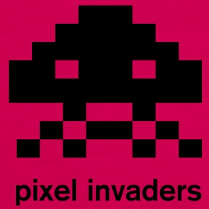Pixel Invaders Women t-shirt - Premium singlet for kvinner