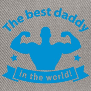 best daddy in the world T-Shirts - Snapback Cap