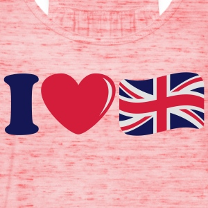 i_love_england_3c T-shirt - Top da donna della marca Bella