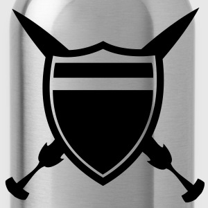 Shield and Sword T-Shirts - Water Bottle