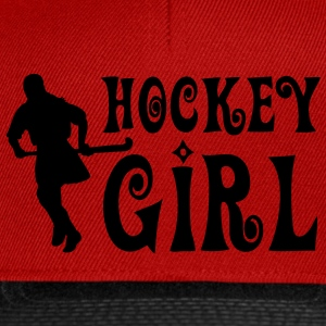 Hockey Girl - Field Hockey T-Shirts - Snapback Cap