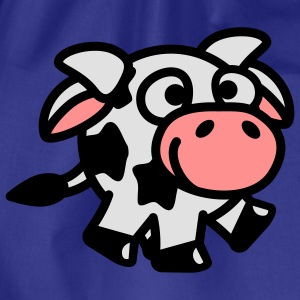 smiley_cow_3c T-Shirts - Turnbeutel