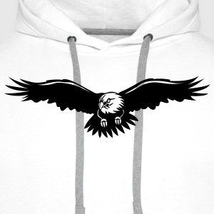 Eagle T-Shirt - Sweat-shirt à capuche Premium pour hommes