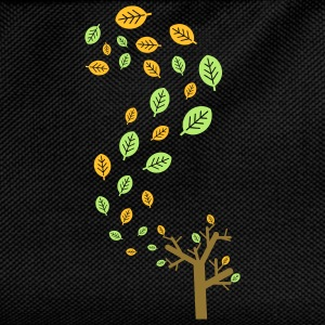 Autumn leaves in the wind - 3 colors T-Shirts - Kids' Backpack