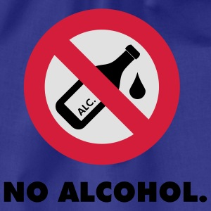 no alcohol - Turnbeutel