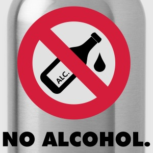 no alcohol - Trinkflasche