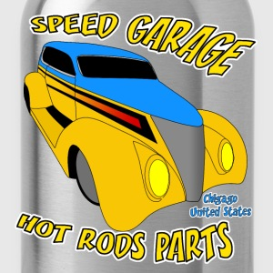 t-shirt us old car - Gourde
