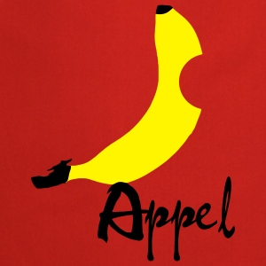 Banan / Apple Artwork T-skjorter - Kokkeforkle