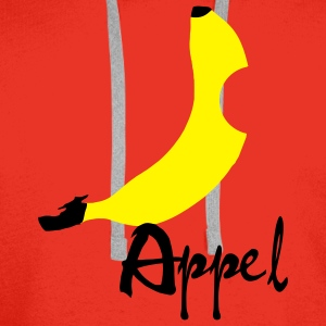 Banana / Apple Artwork T-shirts - Herre Premium hættetrøje