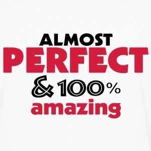 perfect and amazing (2c) T-Shirts - Men's Premium Longsleeve Shirt