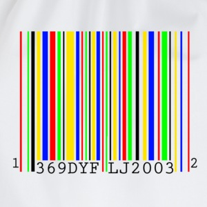 Bar code T-shirts - Gymtas