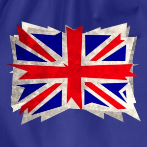 rough union jack - Drawstring Bag
