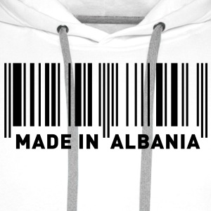 MADE IN ALBANIA Tee shirts - Sweat-shirt à capuche Premium pour hommes