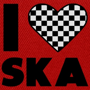 love ska / ska I heart Music T-Shirts - Snapback Cap
