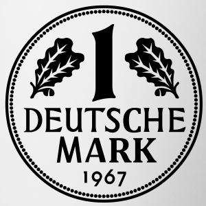 Deutsche Mark - Tasse