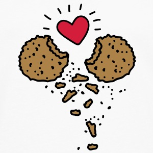 Cookies in Love Tee shirts - T-shirt manches longues Premium Homme