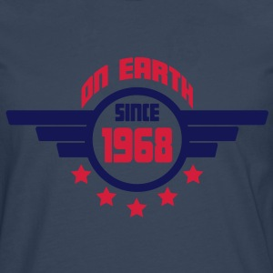 1968_on_earth Camisetas - Camiseta de manga larga premium hombre
