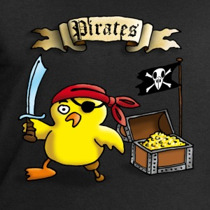 pirate_chick_c T-Shirts - Men's Sweatshirt by Stanley & Stella