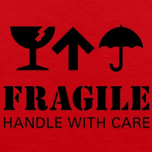 fragil handle with care T-Shirts - Männer Premium Tank Top
