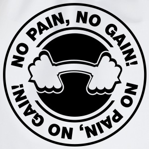 no pain no gain - Turnbeutel