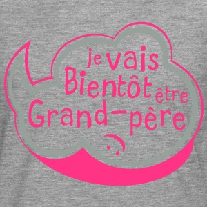bulle bientot grand pere Tee shirts - T-shirt manches longues Premium Homme