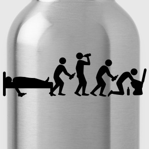 hangover_evolution T-Shirts - Trinkflasche