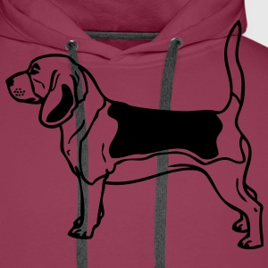 - www.dog-power.nl - CG -  - Sweat-shirt à capuche Premium pour hommes